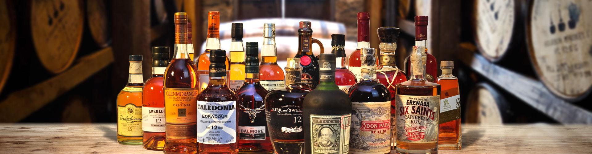 Whisky - Tastings - Rum